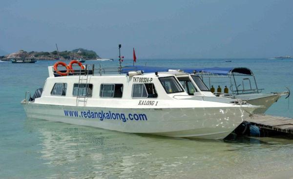 Redang Kalong Resort Private Speed Boat