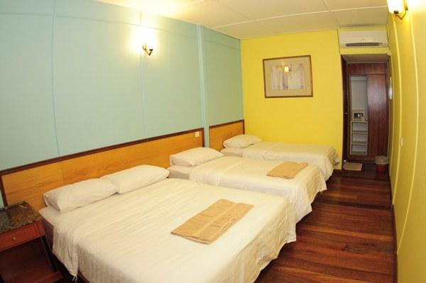 Redang Kalong Resort Standard Quad Room Interior