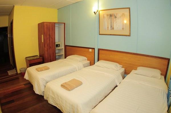 Redang Kalong Resort Standard Triple Room Interior