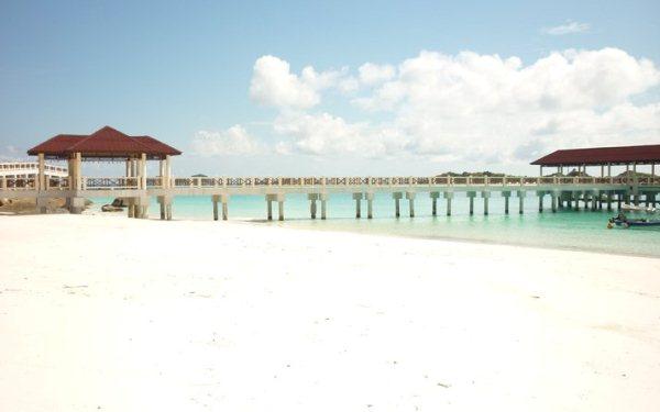 Redang Mutiara Beach Resort Jetty