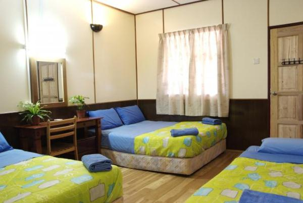 Redang Reef Resort Quad Room